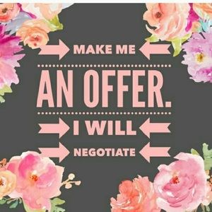 Make me an offer I can't refuse!
